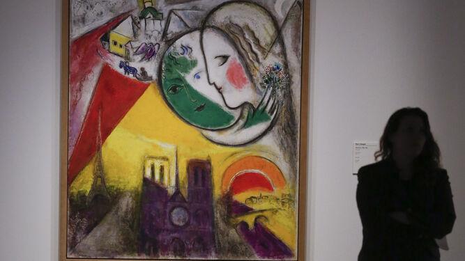 'Domingo', de Chagall, pudo verse en la anterior colección semipermanente.