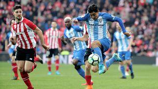 Las imágenes del Athletic-Málaga