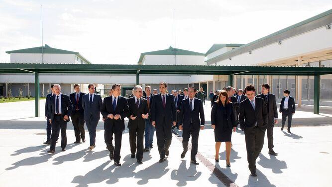 """Inauguran la cárcel de Achidona, centro """"puntero"""" para la reinserción."""