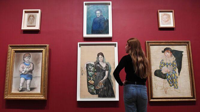 Obras incluidas en la exposición de la Tate Modern, que es la segunda parte de la que el Museo Picasso de París celebró el año pasado.