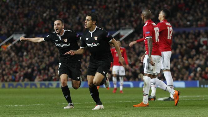 Las imágenes del Manchester United-Sevilla