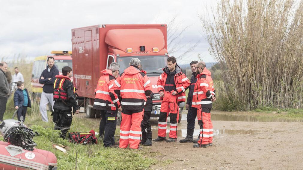 La búsqueda del guardia civil en Guillena