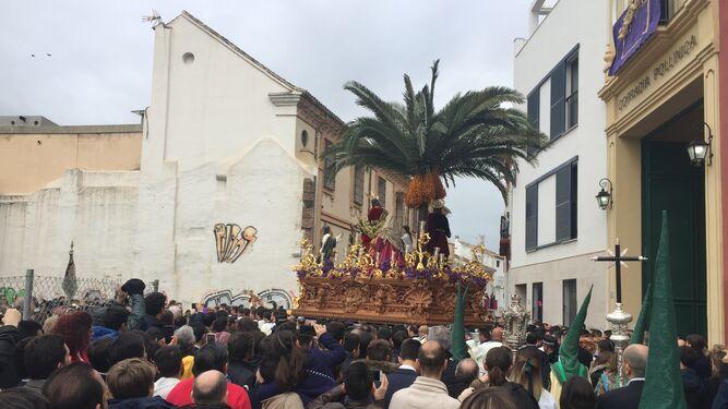 La Pollinica abre el Domingo de Ramos con retraso por la incertidumbre de lluvia