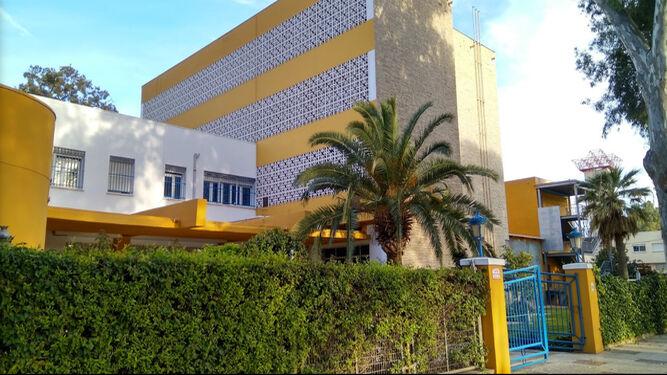 Edificio de la Escuela de Idiomas.