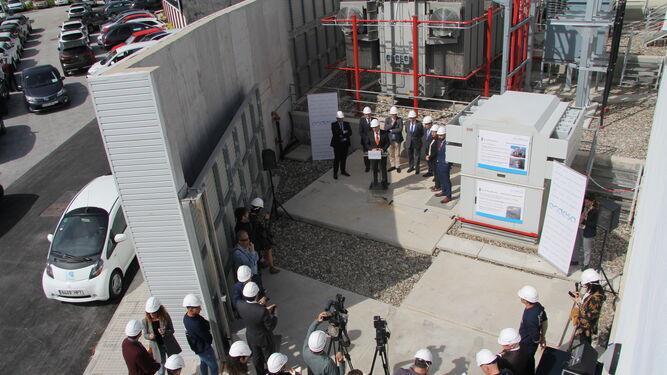 Endesa inaugura una nueva subestaci n el ctrica en m laga for Oficinas de endesa en malaga