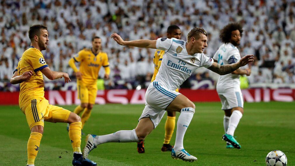 El Real Madrid-Juventus, en imágenes