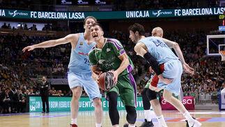 Las imágenes del Unicaja-Barcelona Lassa