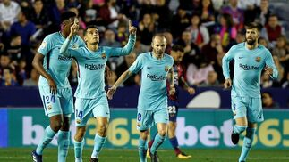 El Levante-Barcelona, en imágenes