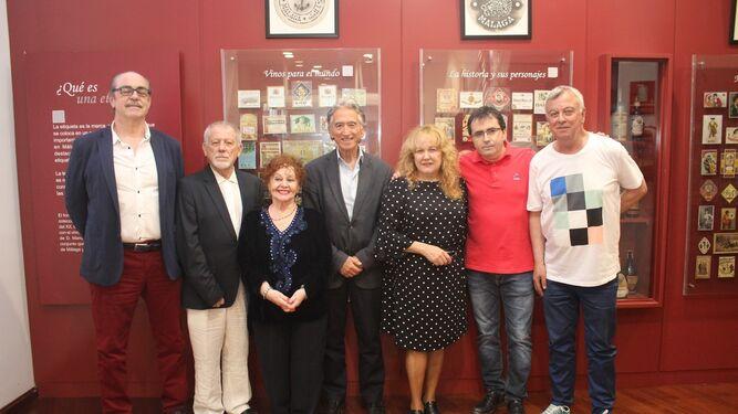 Jesús García Gallego, Pepe Infante, Inés María Guzmán, José Manuel Moreno, Isabel Romero, Antonio Quesada y José María Prieto.