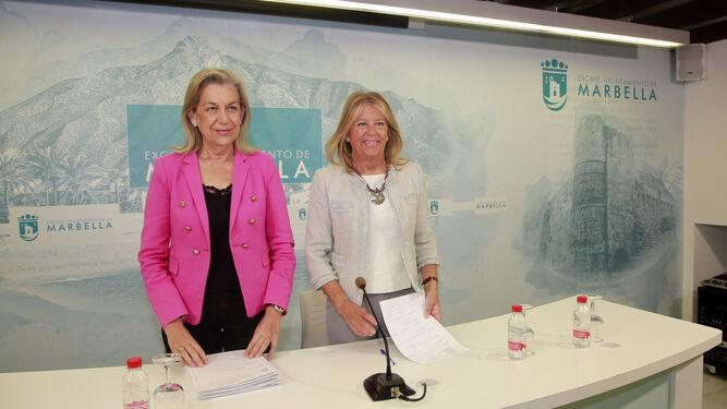 Un momento del Pleno celebrado ayer en Marbella.