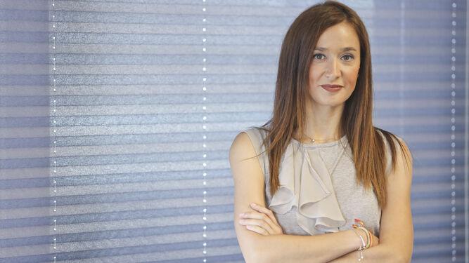 La concejala Elisa Pérez de Siles posa para la entrevista.
