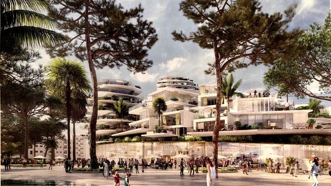 Arquitectos franceses realizar n el proyecto inmobiliario de la t rmica - Estudios de arquitectura en malaga ...