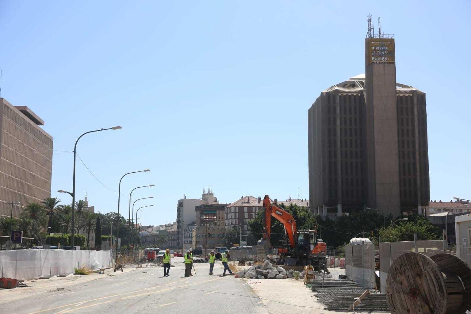 La Junta reactiva las obras finales del Metro de Málaga en el tramo ...