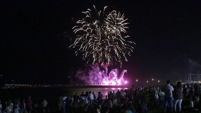 Los Fuegos Artificiales De La Feria De Malaga Un Espectaculo Mas