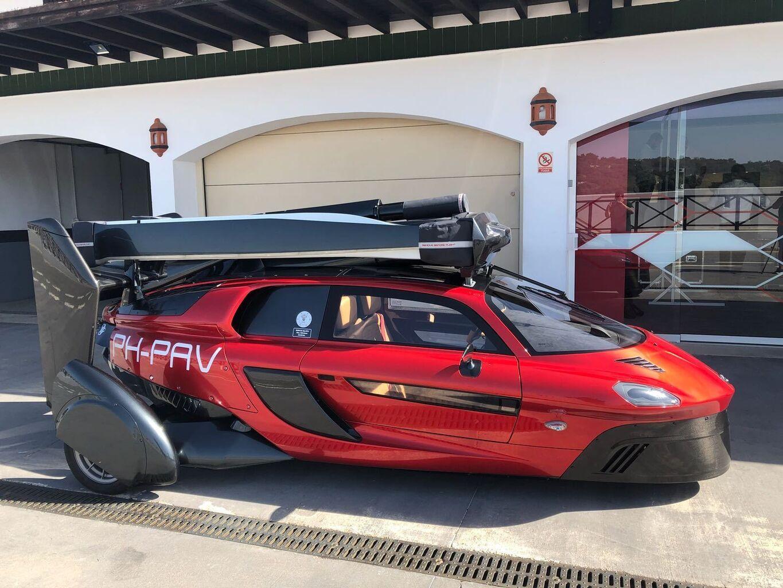Circuito Ascari : El coche volador levanta sus aspas en el circuito de ascari