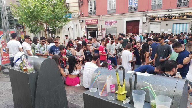 El 39 botell n 39 nos pone flamencos for Plaza uncibay