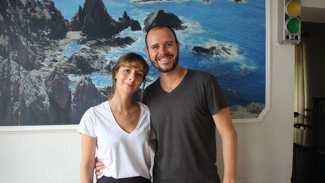 Elise Astier y Jerome Bianchi.