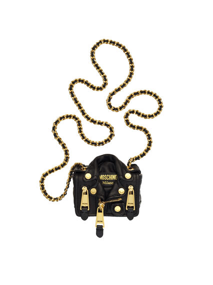 Bolso biker mini Moschino tv H&M 129€