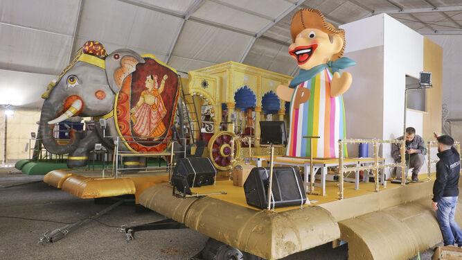 Carrozas De Reyes Magos Fotos.Cabalgata De Reyes De Malaga Capital Ya Vienen Los Reyes Magos