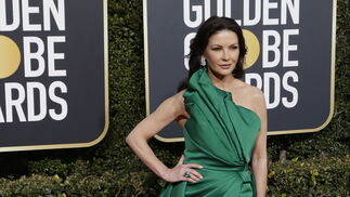 <p>Catherine Zeta-Jones, de Elie Saab.</p><br>