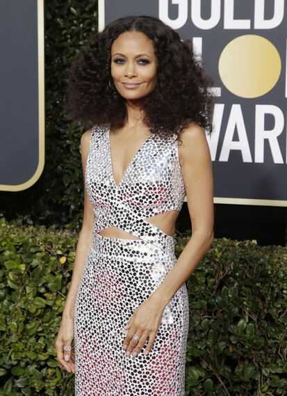 <p>Thandie Newton, de Michael Kors.</p><br>