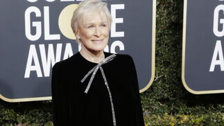<p>Glenn Close, de Armani Priv&eacute;.</p><br>