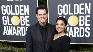 <p>Jim Carrey y Ginger Gonzaga.</p><br>