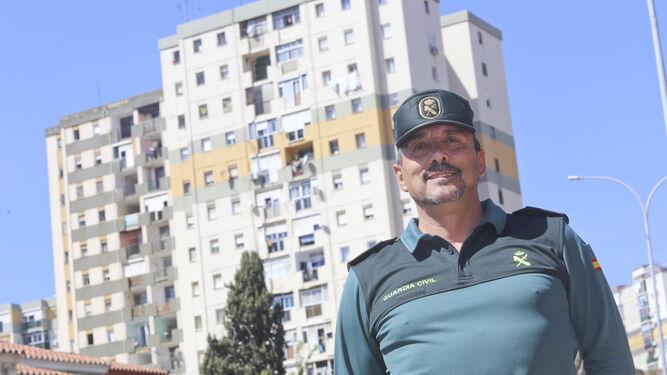 El guardia civil en La Palmilla