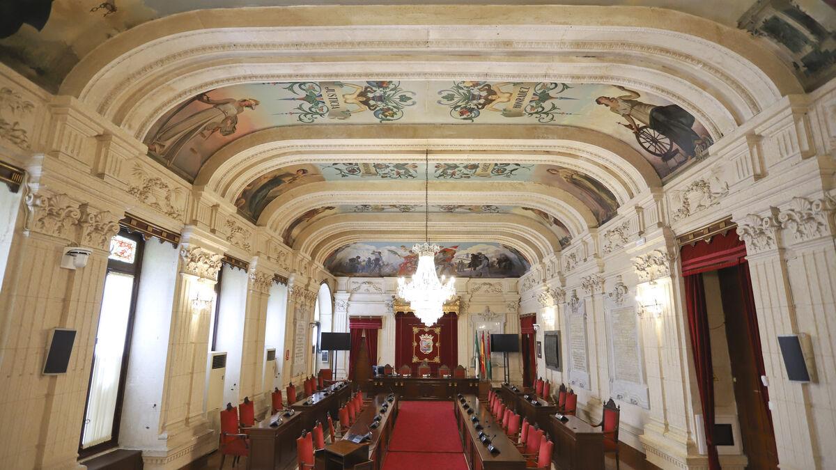 La educación, las servidumbres, la financiación y la zona azul, a debate en Pleno del Ayuntamiento de Málaga