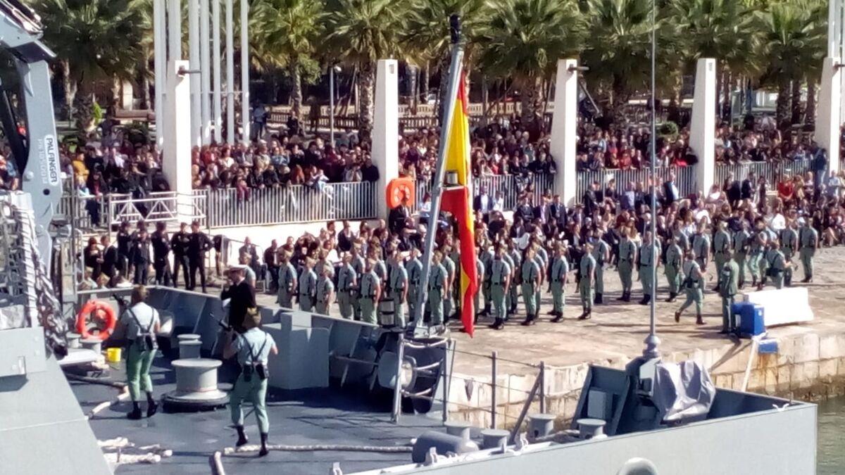 La Legión Desembarca En Málaga