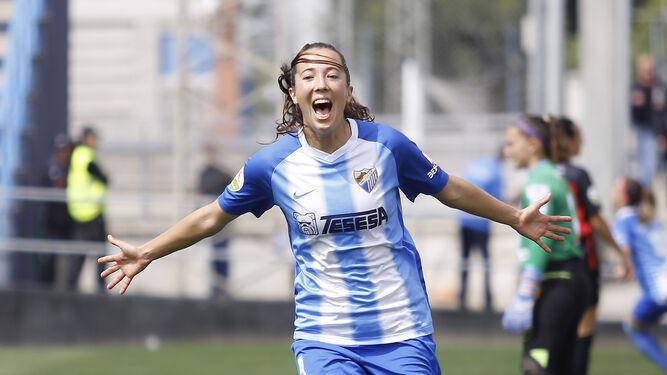 9aea6ddc2d3b4 Cazalla celebra su gol.