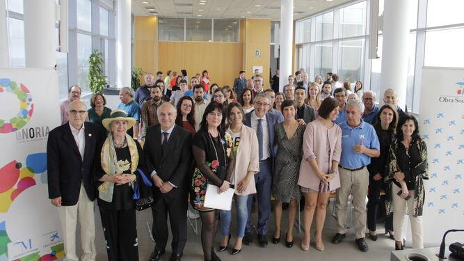 Presentación de los proyectos de innovación social en la Diputación de Málaga.