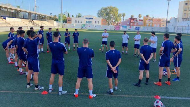 Calendario Tercera Division.Grupo Ix Tercera Division El Palo Presenta Su Calendario De Pretemporada