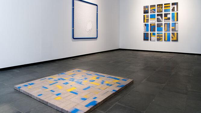 Antonio R. Montesinos en la Galería Isabel Hurley.