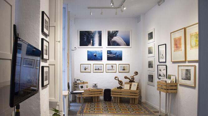 La Casa Amarilla no cuenta con un gran espacio de exposición, pero su apuesta por el arte es decidida y valiente.