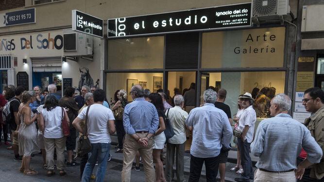 Las exposiciones de Ignacio del Río son muy esperadas.