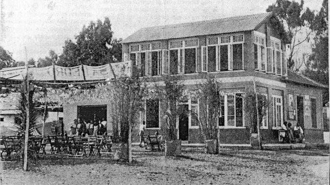 Merendero Casa Pedro en una foto de la revista 'Vida Gráfica', en 1929.