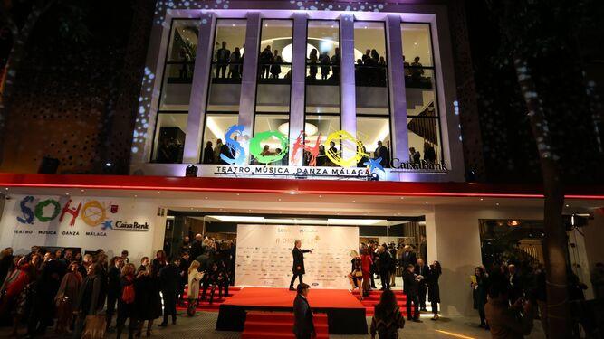 El Teatro del Soho en su gran inauguración.