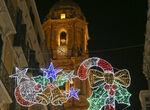 Un vídeo animado sobre la muralla de la Alcazaba, nuevo espectáculo de la Navidad en Málaga