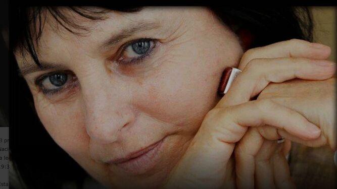 La poeta y filósofa Chantal Maillard (Bruselas, 1951).