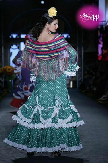 Desfile de Pol Núñez en We Love Flamenco 2020
