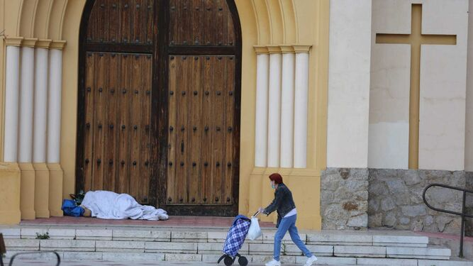 Coronavirus en Málaga: La pobreza que devuelve a las familias a la casilla  de salida