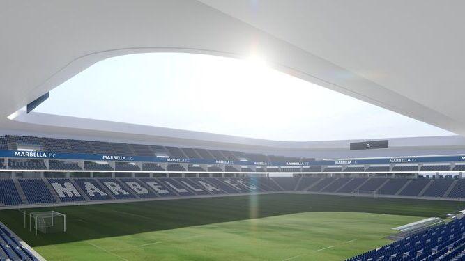 El nuevo estadio del Marbella, proyectado para 18.000 espectadores 2