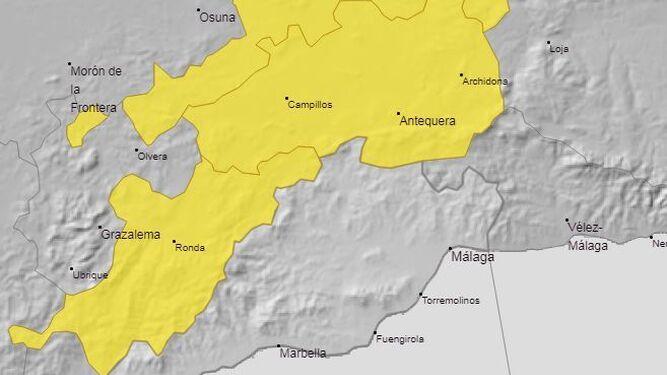 Aviso Amarillo Por Lluvias Y Tormentas En Ronda Y Antequera Este Martes