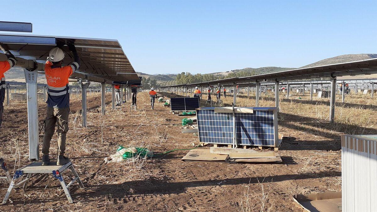 Endesa conecta a la red sus dos primeras plantas solares en Málaga ubicadas en Teba