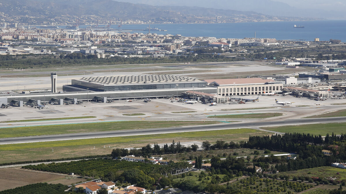 """Málaga tacha de """"brutal"""" el impacto de las nuevas servidumbres del aeropuerto 2"""