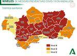 Estas son las restricciones que afectan a Málaga desde este viernes y sus niveles de riesgo