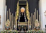 Las cofradías de Málaga conmemoran el Día de Todos los Santos en el año de la pandemia del coronavir ...