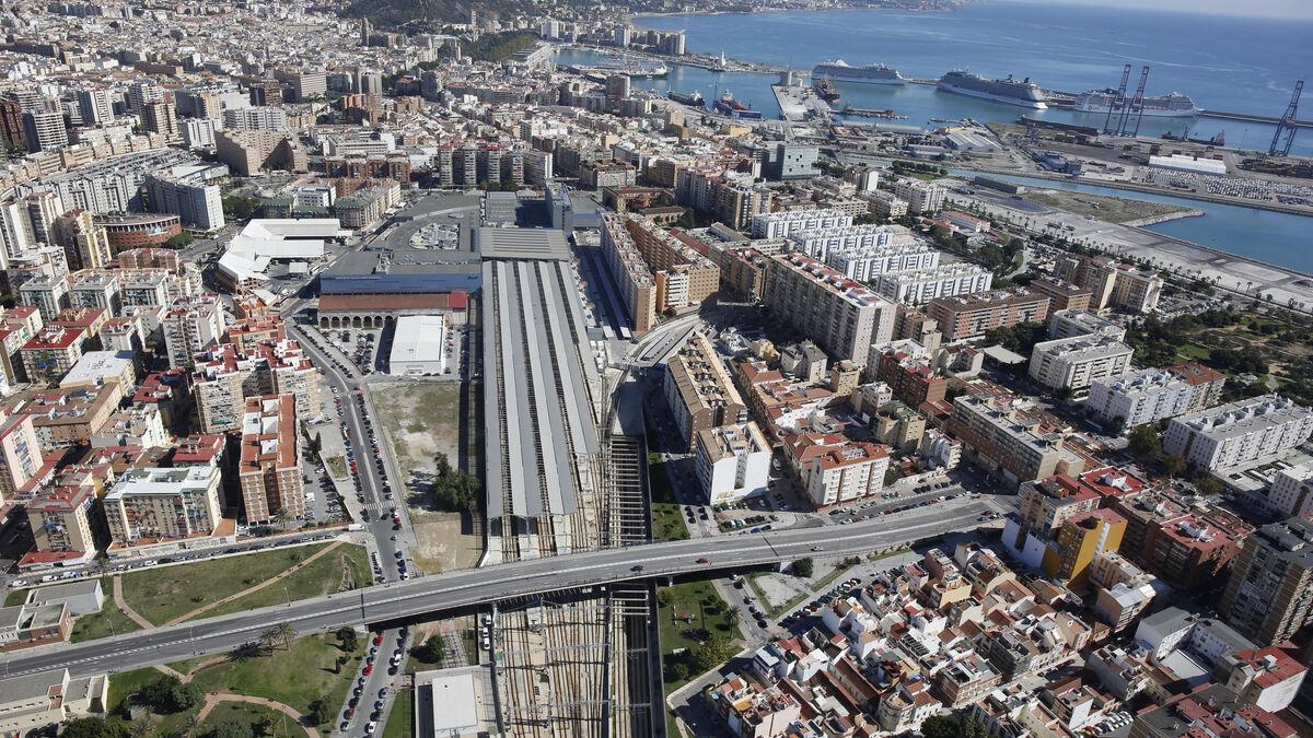 Queda desierto el concurso para construir un hotel en la estación de trenes Málaga María Zambrano 3