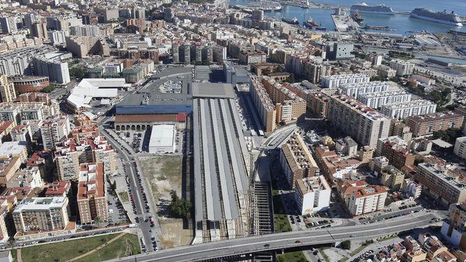 Queda desierto el concurso para construir un hotel en la estación de trenes Málaga María Zambrano 2